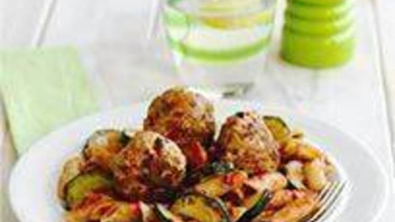 Large image for Sainsbury's Spiced turkey meatballs recipe