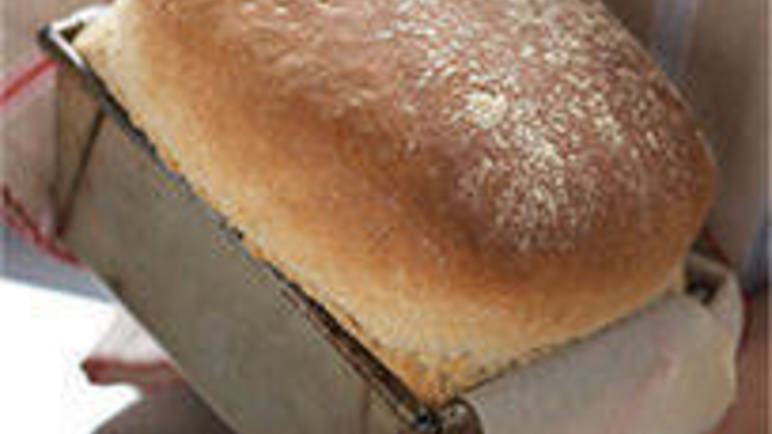 Large image for Handbaked traditional white loaf recipe on Sainsbury's online