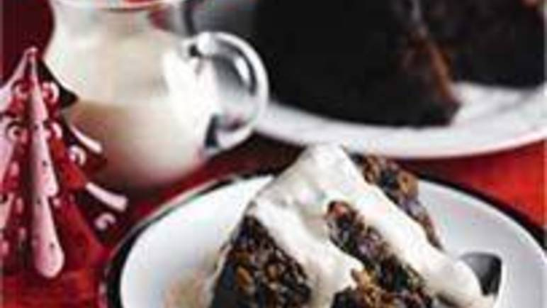 Large image for Sainsbury's Boozy Christmas pudding recipe