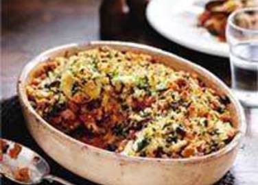 Large image for Sainsbury's Freeze-ahead vegetable gratin recipe