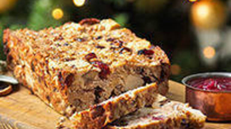 Large image for Quorn, Cranberry and Chestnut Loaf recipe