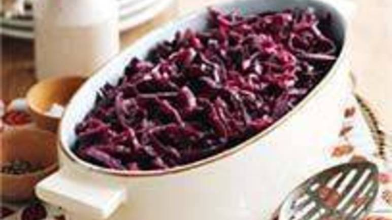 Large image for Sainsbury's Red cabbage with clementine and port recipe