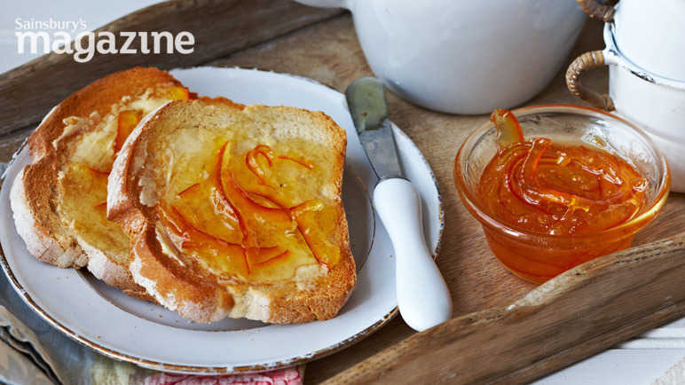 Seville orange marmalade image