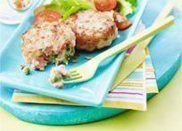 Large image for Sainsbury's Salmon and pea fishcakes recipe