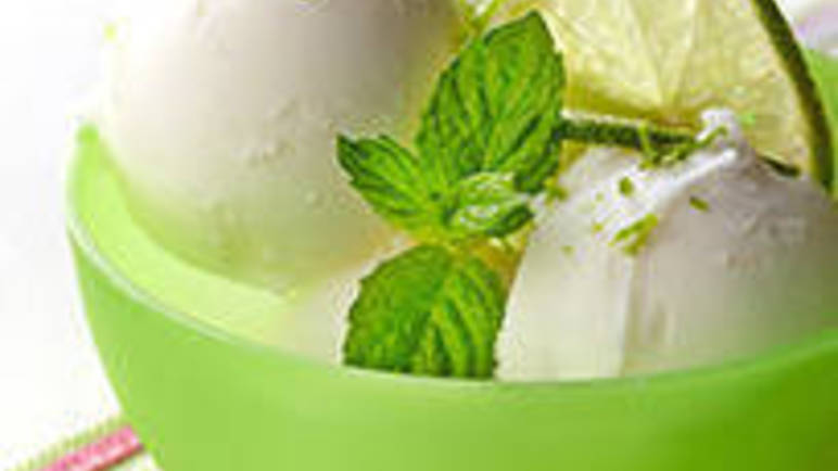 Large image for Coconut & Lime Sorbet recipe