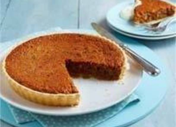 Recipe Hot Cross Bun Treacle Tart Recipes