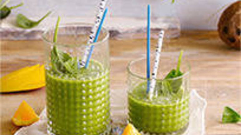 Large image for the Alpro great green coconut smoothie.
