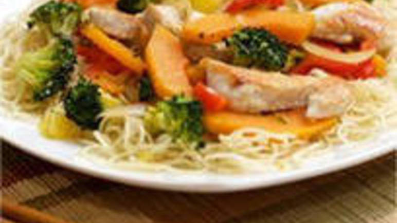 Large image for Chicken, Butternut Squash and Broccoli Stir-fry from Sainsbury's online