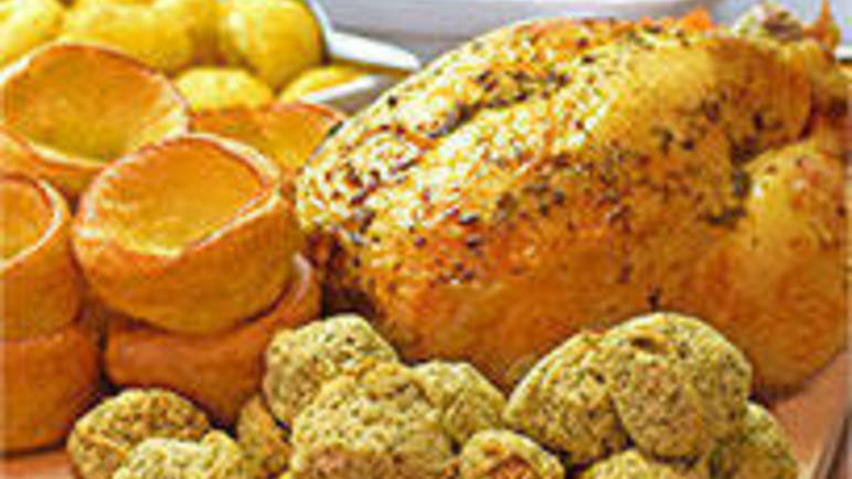 Large image for Aunt Bessie's roast chicken recipe on Sainsbury's Online