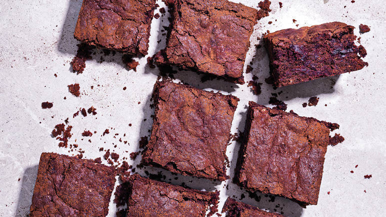 Image: Chocolate beetroot brownies