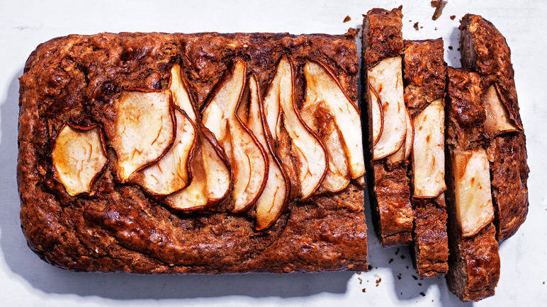 Image: Pear and parsnip cake