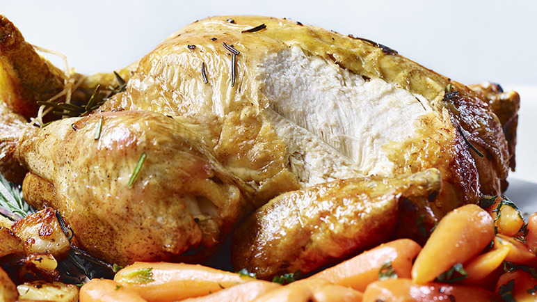 Image: Prosecco chicken roast