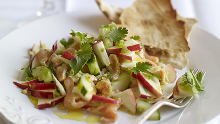 Image: Pink Lady® apple and salmon ceviche
