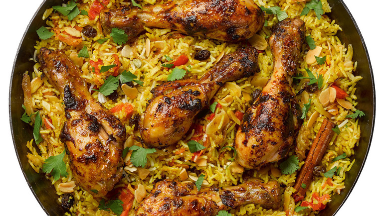 Image: Chicken biryani
