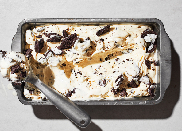Image: No-churn Oreo ice cream