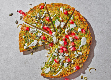 Image: Persian-style herb frittata