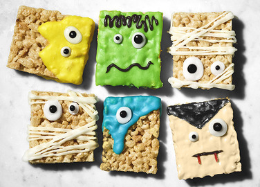 Image: Monster rice crispy treats