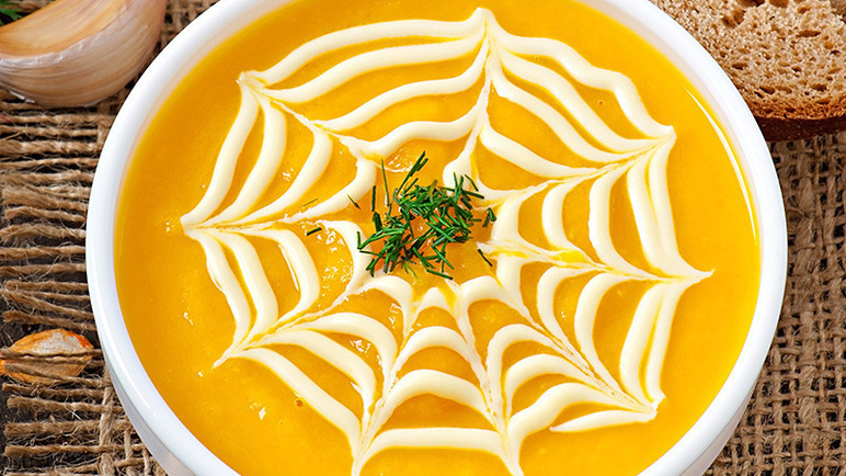 Image: Pumpkin and ginger soup