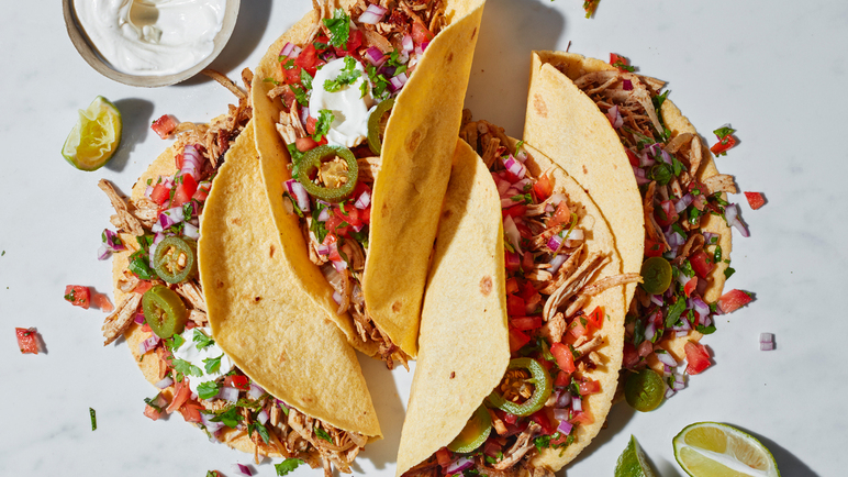 Image: Leftover turkey carnitas