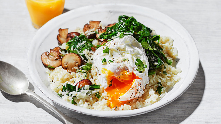 Image: Cauliflower porridge