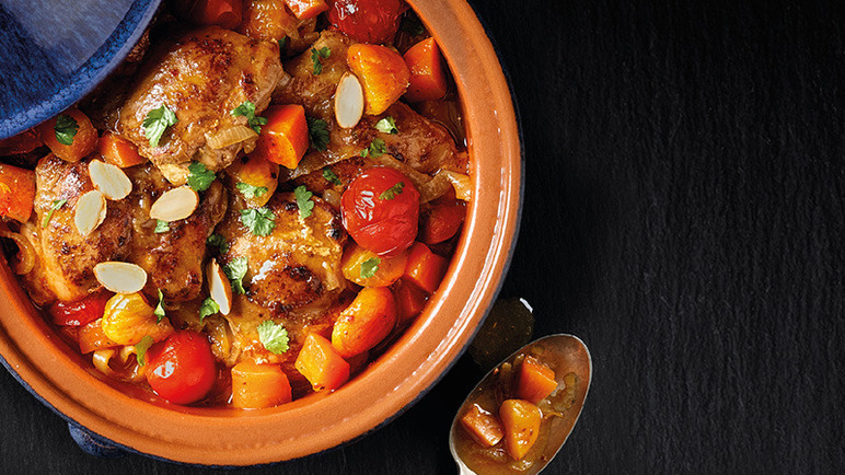 Image: One pot chicken tagine