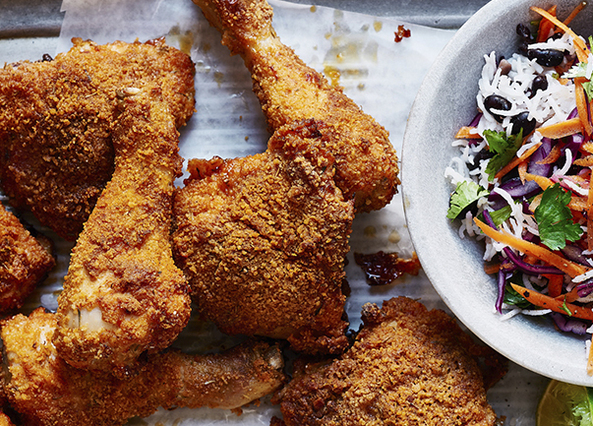 Image: Baked Southern Fried Chicken
