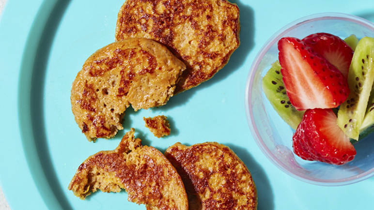 Image: Sweet potato pancakes
