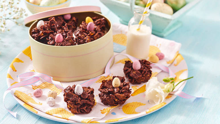 Image: Classic Easter chocolate nests