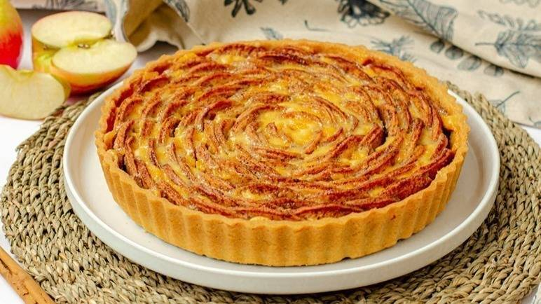 Image: Spiced apple tart