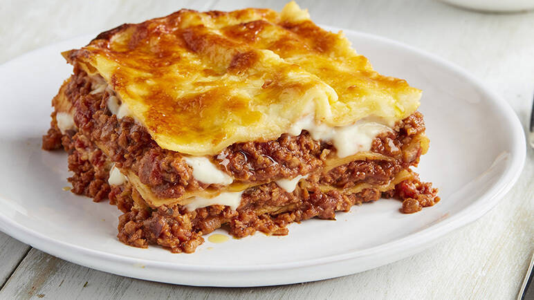 meatless lasagne