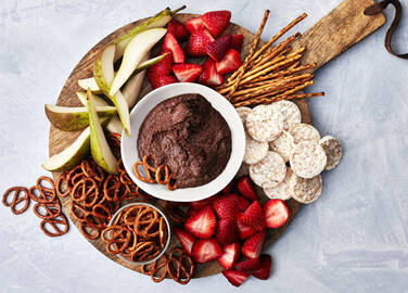 Image: chocolate houmous