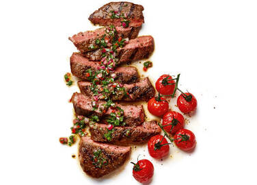 Image: Steak with Chimichuri