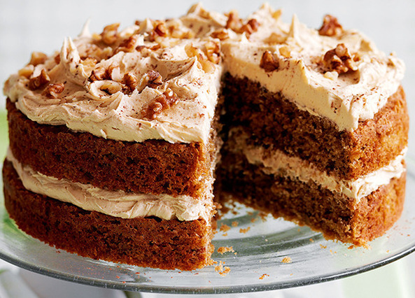 Walnut Cake Recipe Uk