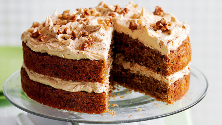 Best Coffee And Walnut Cake Recipe Uk