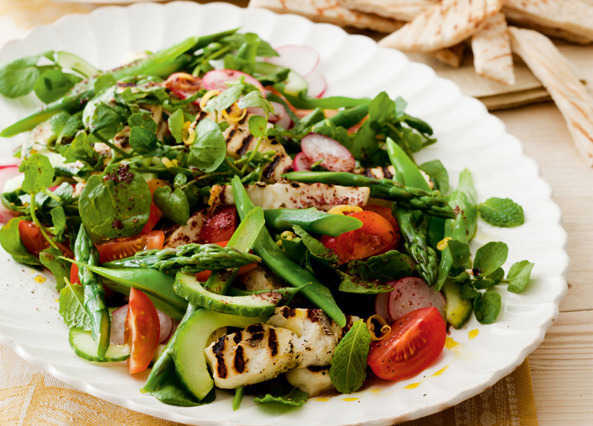 'holiday at home' salad image
