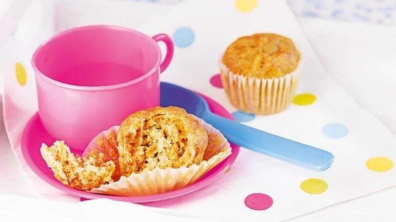 Mini carrot & apple muffin image