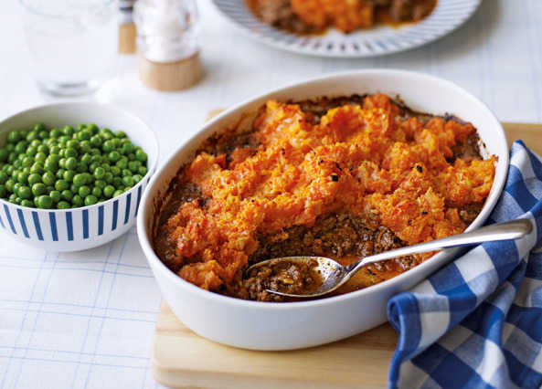 Cottage pie with vegetable mash toppin image