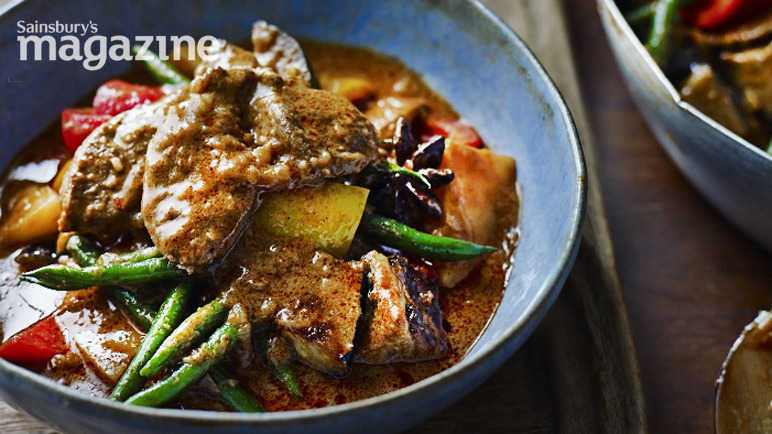 Massaman duck curry
