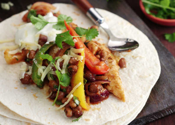 Speedy chicken fajita image