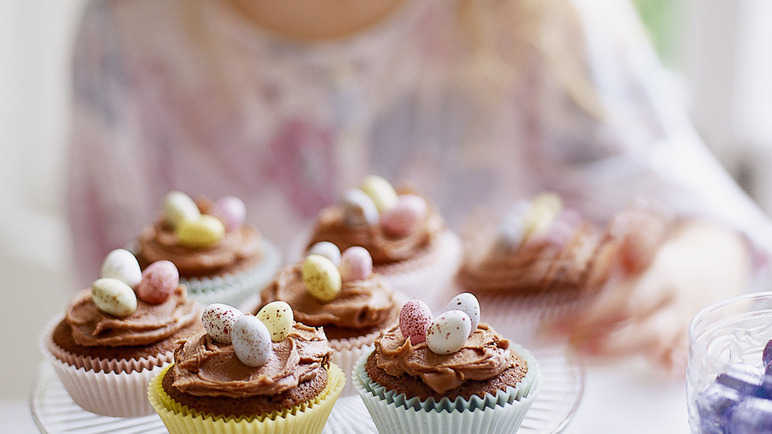 Recipe Surprise Chocolate Fairy Cakes Sainsbury S