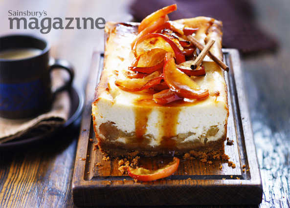 Toffee apple cheesecak image