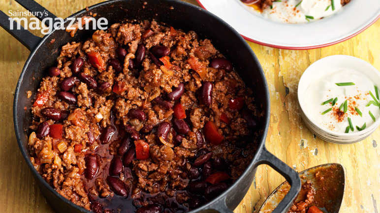 The real deal chilli con carne
