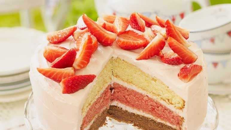 Afternoon tea layer cake image