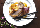 Roast goose with chestnut image