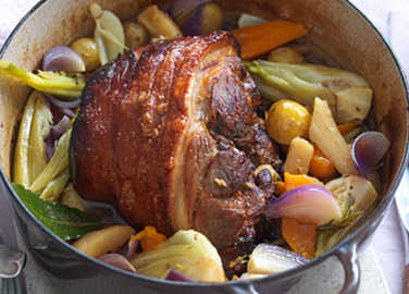 Pork shoulder pot roas image