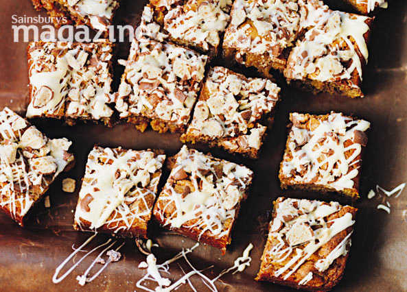 Malteser blondies image
