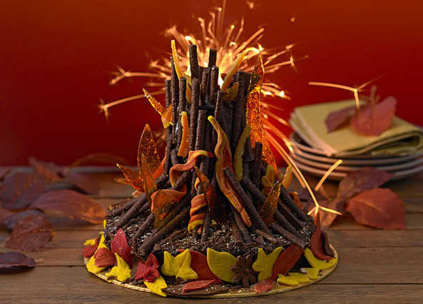 recipe bonfire night cake sainsbury 39 s