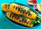 Image: Chilli-lime barbecued sweetcorn