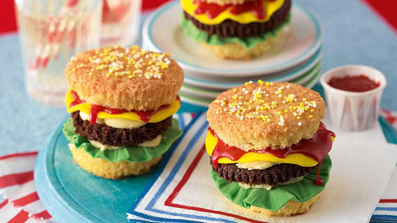 Image: Mike's cheeseburger cupcakes