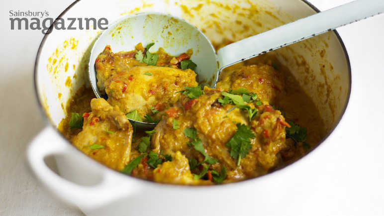 Image: Easy chicken curry